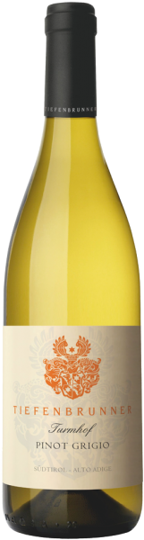 TIEFENBRUNNER Pinot Grigio DOC Turmhof 2018