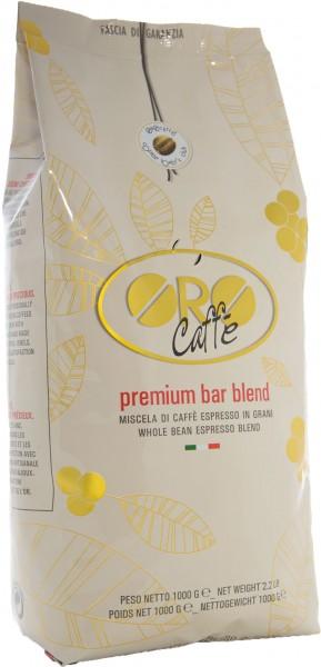 ORO CAFFE Espresso Premium Bar Blend 1kg Ganze Bohne