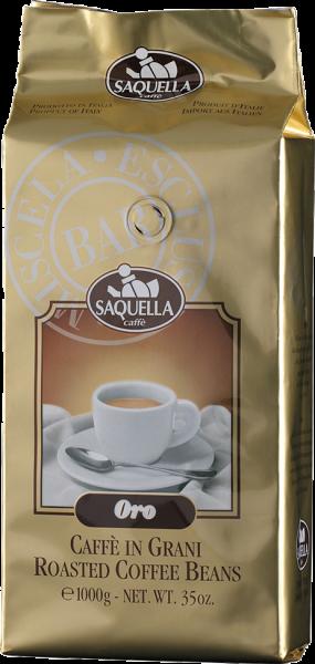 SAQUELLA Espresso Oro Bar Sud 1kg Ganze Bohne