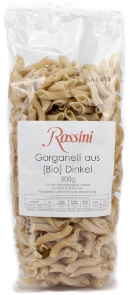 ROSSINI Garganelli aus Dinkelmehl