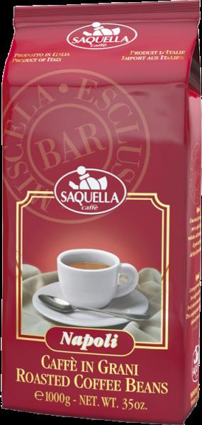 SAQUELLA Espresso Napoli 1kg Ganze Bohne