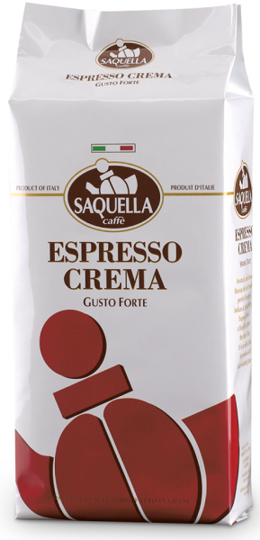 SAQUELLA Espresso Crema 1kg Ganze Bohne