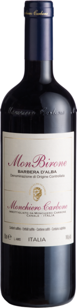 MONCHIERO CARBONE Barbera D'Alba DOC Monbirone 2017