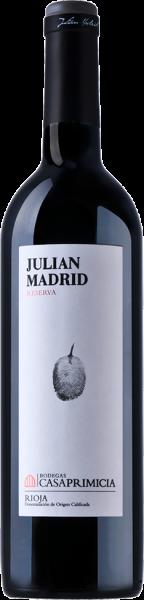 BODEGAS PRIMICIA Julian Madrid Riserva de Familia 2009