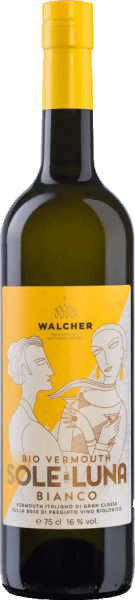 WALCHER Bio Vermouth Sole Luna Bianco
