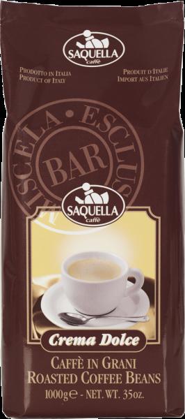 SAQUELLA Espresso Crema Dolce 1kg Ganze Bohne