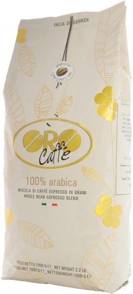 ORO CAFFE Espresso 100% Arabica 1kg Ganze Bohne