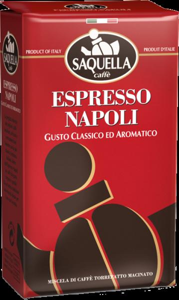 SAQUELLA Espresso Napoli 250g Gemahlen